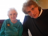102nd Birthday Party for Emily Cook, Middletown,NJ with Calvin Schwartz
