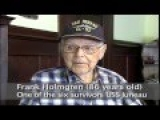 Remember USS Juneau Frank Holmgren Interview [Video]