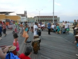 NEWS FLASH:  Asbury Park Community Boardwalk Drummers Told No More by Authorities. July 11, 2012   By Calvin Schwartz