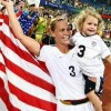 Christie Rampone Soccer Gold Medalist from the 2012 Olympic Games Welcome Home Event Jersey Shore Medical Center [Video]