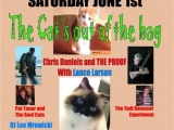 "COMING ATTRACTIONS AND RECOMMENDATIONS: Wonder Bar. Asbury Park. Sat June 1st 8 pm Concert: ""The Cat's Out of the Bag"" Chris Daniels and the Proof with Lance Larson."