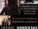 """COMING ATTRACTIONS AND RECOMMENDATIONS: WonderBar Asbury Park USA Friday June 14: Dana Fuchs Band, Gedeon Luke & the People, Christine Martucci.   """"A Rocket Launch"""" By Calvin Schwartz    June 10. 2013"""