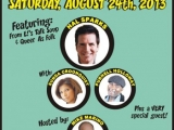 ASBURY PARK COMEDY FEST WEEKEND Aug 23, 24 and 26th  (Aug 24th BIG Comedy Show at Paramount Theater) BE THERE!!!!