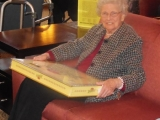 A SPECIAL LADY: HATTIE SMELTER'S 100TH BIRTHDAY PARTY  By  CALVIN SCHWARTZ   December 19th 2014