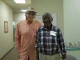 """Hold On To A Moment: A Journey to Jersey Centenarians: A Series. Meet Malcolm Murray (only 93) at 'We Care Adult Care' in Middletown. WWII Veteran with General Patton.   bY Calvin Schwartz  June 4th 2015."