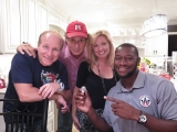 NOW ON YOU TUBE: NJ DISCOVER LIVE RADIO/TV SHOW  with special guests comedian Mike Marino (running for President)  and Super Bowl Champion Tim Wright with hosts Tara-Jean Vitale & Calvin Schwartz  7-28-15