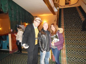 a chance meeting Mike at the Garden State Film Festival in Asbury Park Paramount Theatre back in April
