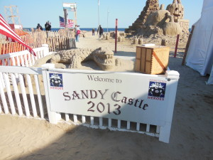 welcome to Sandy Castle at Point Pleasant