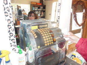 her father's cash register