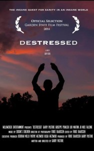 "the fil;m poster from ""DESTRESSED"""