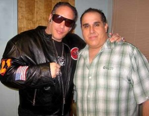 Michael with Andrew Dice Clay
