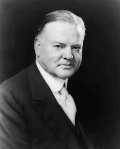 the Depression President Hoover