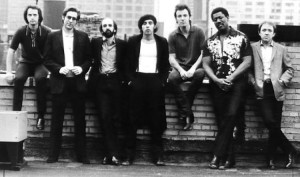 E Street Band. Danny Federici on right. 1980ish