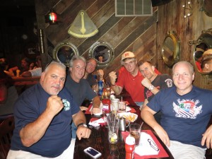 with the gang from Jersey City, including NJ Bad Boy of Comedy Mike Marino, Former boxer John Freda.