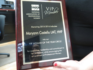Mayann Castello, Woman of the Year