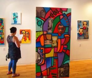 Kortez Robinson art on exhibit
