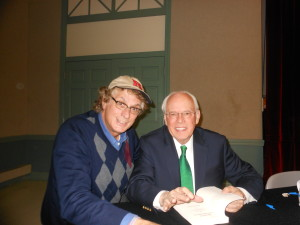 with John Dean, President Nixon's counsel after an Eagleton lecture a few years ago