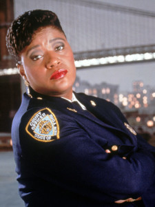 Marsha as 'Roz' on Night Court
