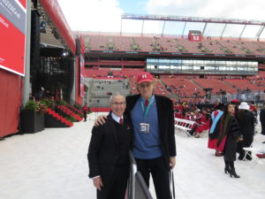with Rutgers Professor & Director of Athletic Bands Tim Smith. Our 197th photo-op