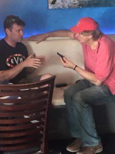 Interviewing director Thomas Baldinger