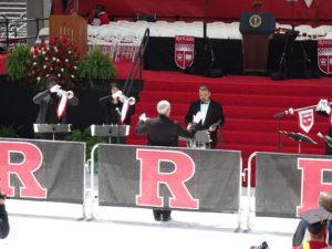 Tim Smith conducting pre-ceremony