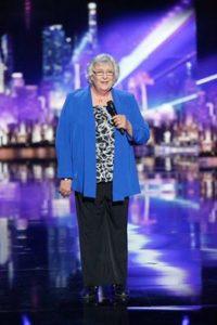 Julia's 1st appearance on America's Got Talent