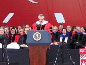 Greg Brown speaking