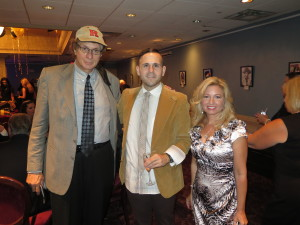 with Tara-Jean Vitale, NJ Discover TV co-host and Anthony D-Amato