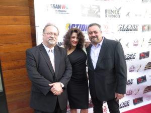 Kevin Cieri, Long Branch Cable Commission, portrait photographer Kathy Facciponti and actor Garry Pastore