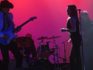 Mario Casella & Lisa Sherman on stage
