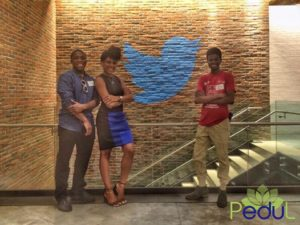 Chisa Egbelu, Kayla Jackson & Murtala Aliyu on the road in NYC