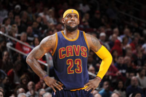 LeBron James changing the brave new world by donating $41 million so 1100 kids can go to college.