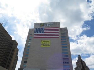 Mega company IDT headquarters in Newark. Providing the nurturing for Pedul