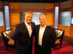 Mike Marino and Steve Adubato just after PBS One on One