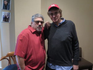with Vincent Pastore in North Jersey