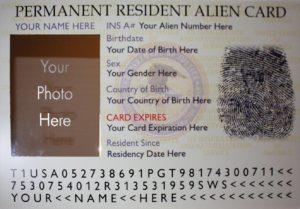 """""""Green Card"""""""